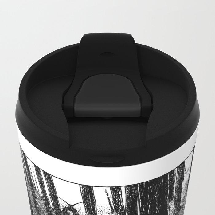 asc 603 - L'histoire sans fin (The Garden of Forking Paths) Metal Travel Mug