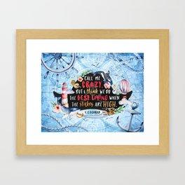 Lila Bard Framed Art Print