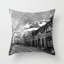 STOP For Brooklyn Heights Brownstone Love NYC Throw Pillow