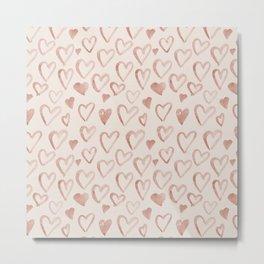 Love you naive hearts_bloomart Metal Print