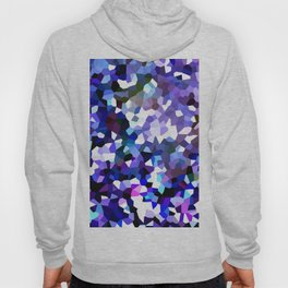 Ultra Violet Purple Blue Gems Hoody