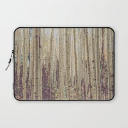 Aspen Forest Rustic Photography Laptop Sleeve