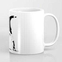 Rage, Flower Thrower - Banksy Coffee Mug