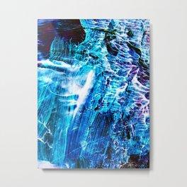Waves Upon Waves Metal Print