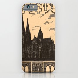 Iconographic Encyclopedia of Science, Literature and Art (1851) - Middle Age Architecture 1 iPhone Case