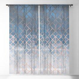 Geometric XII Sheer Curtain
