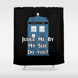 Doctor Who TARDIS Shower Curtain
