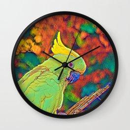 AnimalColor Bird 003 Wall Clock