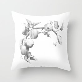 In The Apple Orchard Throw Pillow