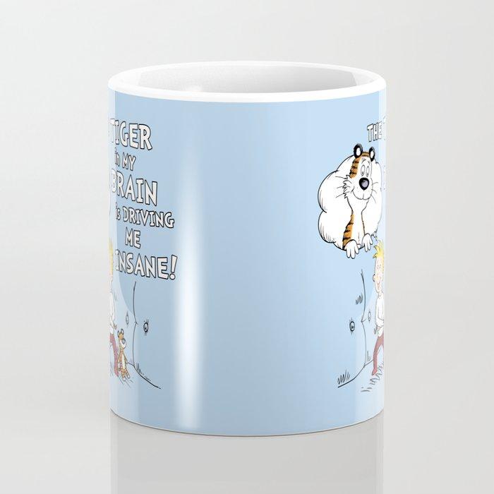 The Tiger in My Brain Coffee Mug