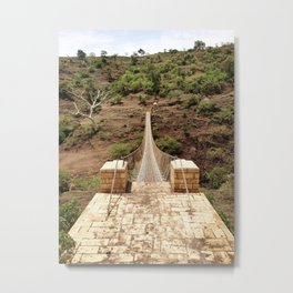 Temple Run in Real Life Metal Print