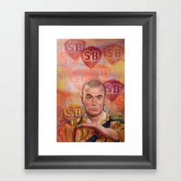 Stop Biting pt.1 Framed Art Print