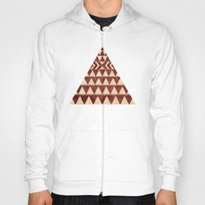 Vintage Material Triangles Hoody