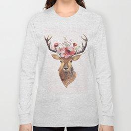 Bohemian Deer Long Sleeve T-shirt