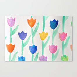 -happy tulips- Canvas Print
