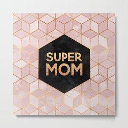 Supermom Metal Print