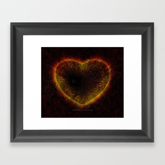 Shattered 014 Framed Art Print