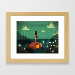 Submarine Framed Art Print