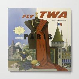 Vintage poster - Paris Metal Print