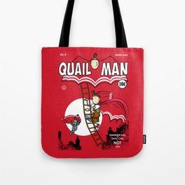 The Dark Quail Tote Bag