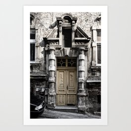 The Door / Belgrade Art Print