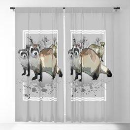 Ferrets Blackout Curtain