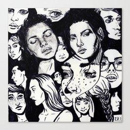 Composition 3 Canvas Print
