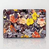 floral pattern iPad Cases featuring Floral Pattern by Burcu Korkmazyurek