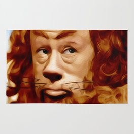 Bert Lahr as the Lion Rug