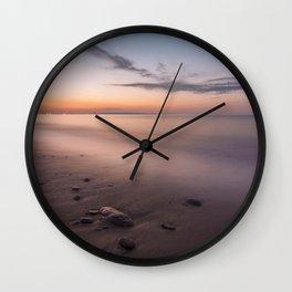 Long exposure dusk Wall Clock