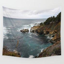 California Coastline Wall Tapestry