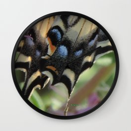 Detail of a Swallowtail Wall Clock