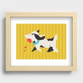 Zombie Dog Harriet Recessed Framed Print