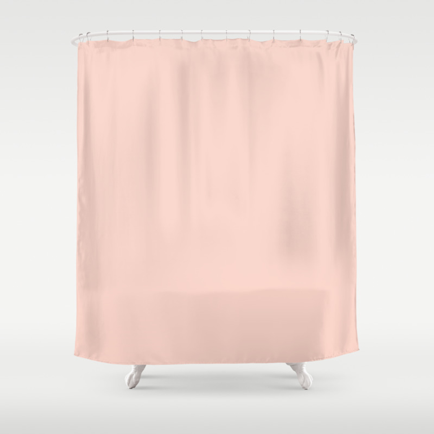 Peach Color Shower Curtain By Theartbutterfly Society6
