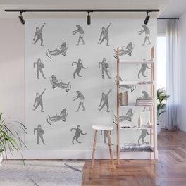 The Secret Life of Bigfoot Wall Mural