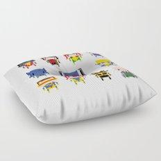 Pixel X-Men Floor Pillow