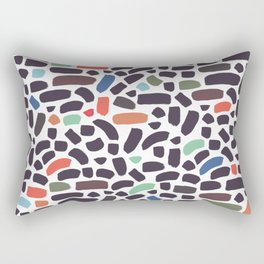 Brush strokes pattern #5 Rectangular Pillow