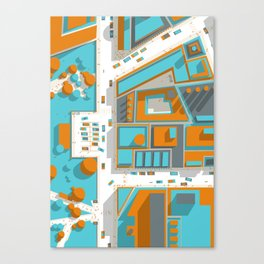 Ground #02 Canvas Print