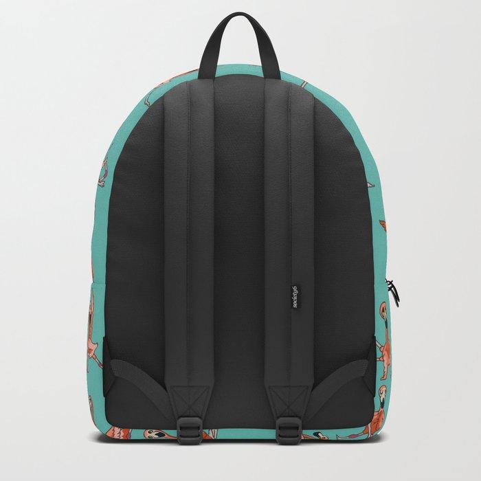 Flamingo Yoga Backpack