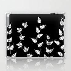 Black and White Garden Laptop & iPad Skin