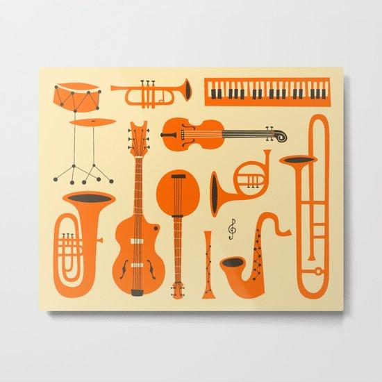 Just Jazz Metal Print