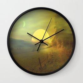 Landscape hike Wall Clock