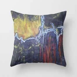 Impulsive: Playing with Fire Throw Pillow
