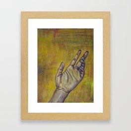 Lending a Hand Framed Art Print