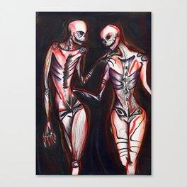 twenty five aka Bare Bones Canvas Print