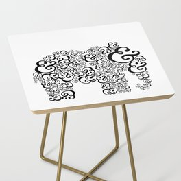 Ampersand Elephant Side Table