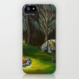 Just Camping iPhone Case