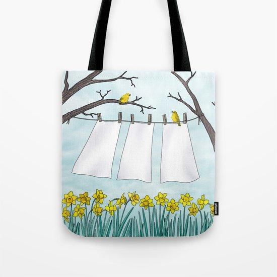 spring clean Tote Bag
