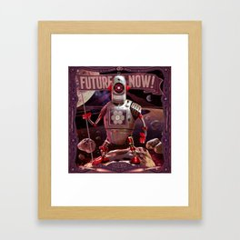 Future is Now! Framed Art Print