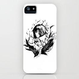 A heart is a heavy burden iPhone Case